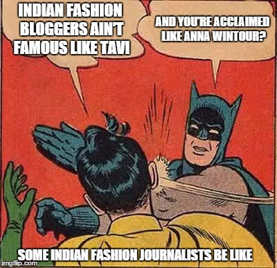 indian fashion editors vs fashion  bloggers