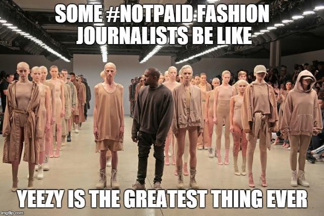 yeezy nepotism fashion