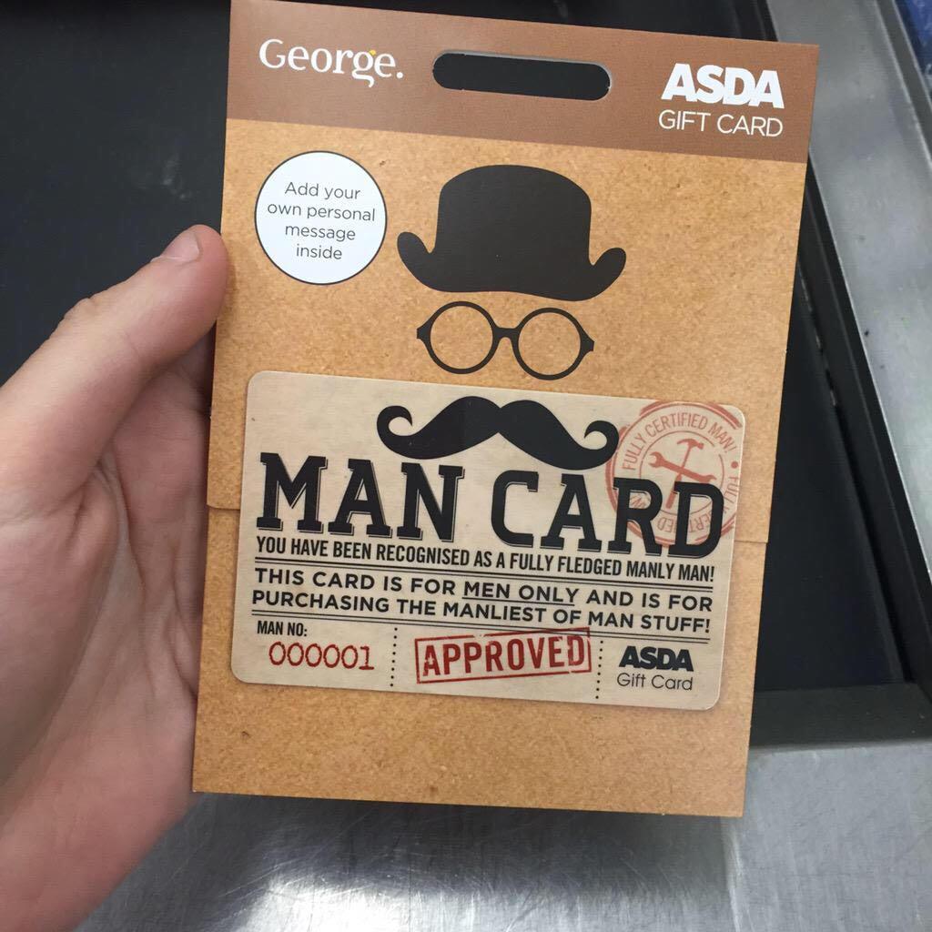 Gift Card fragile masculinity