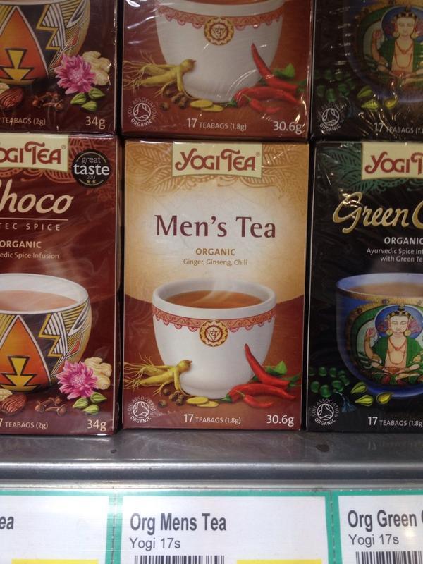 Mens tea fragile masculinity
