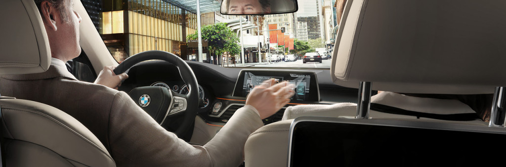 BMW 7 Series Gesture Control