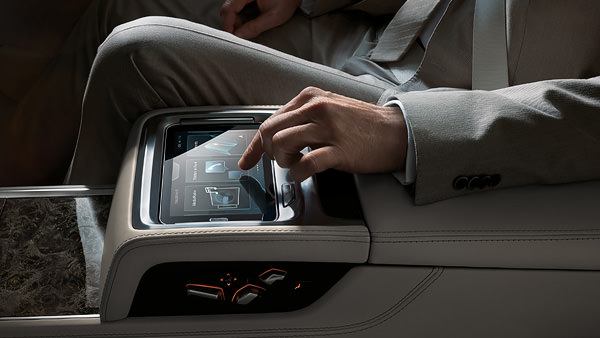 BMW 7 Series Touch Command