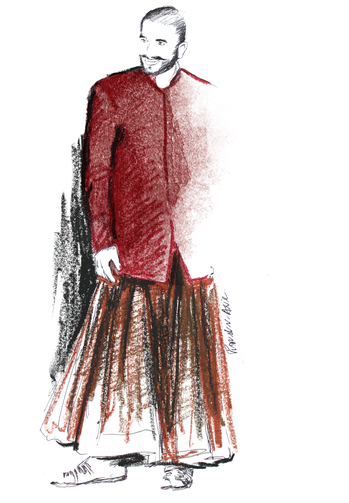 Fashion Illustration - Ranveer Singh