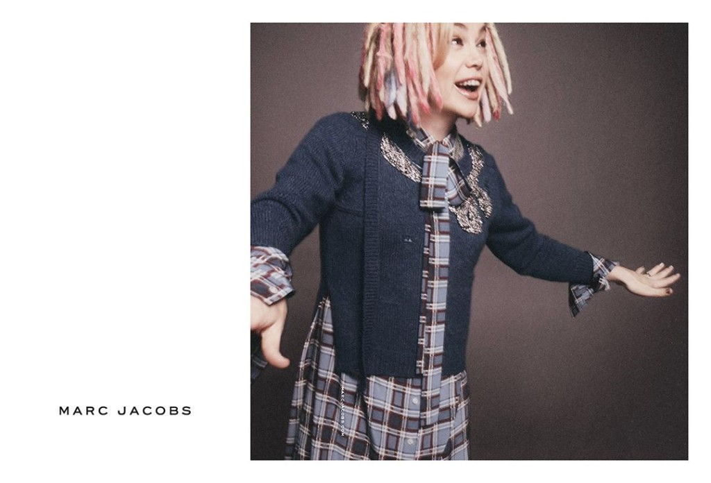 Lana Wachowski starring in Marc Jacobs SS16 Campagin
