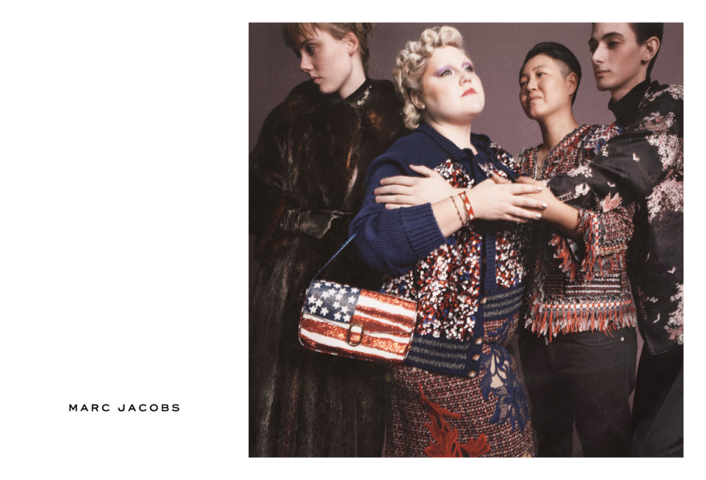 Beth Ditto in Marc Jacobs SS16 Campaign
