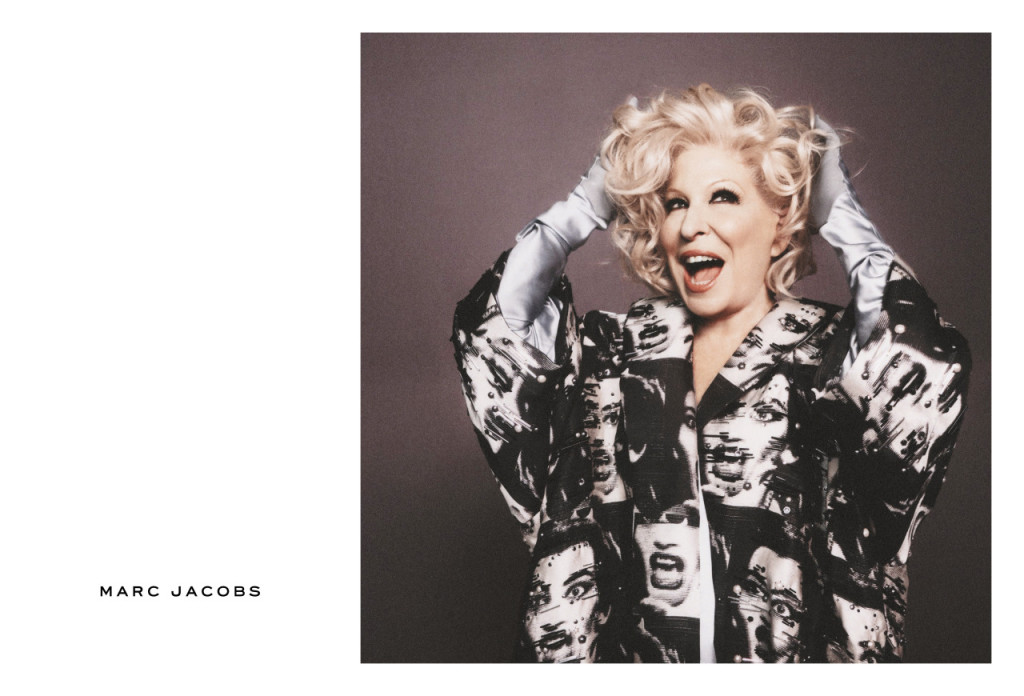 Bette Midler Marc Jacobs SS16 Campaign