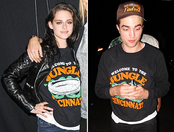 Kristen Stewart Robert Pattinson Share Clothes