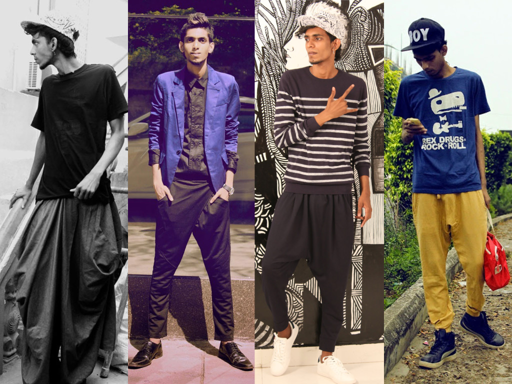 Purushu Arie Men's Gender Neutral Fashion Blogger