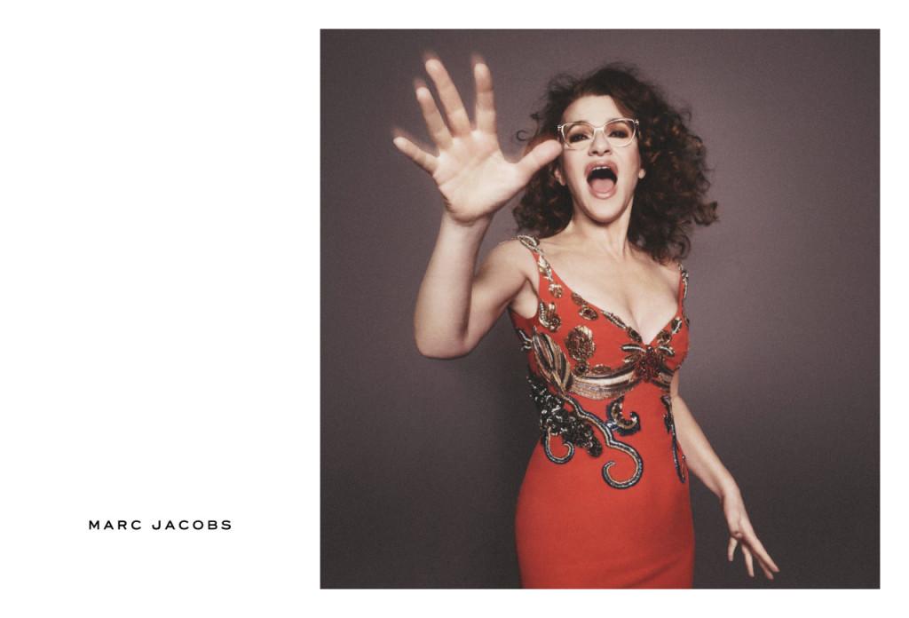 Sandra Bernhard stars in Marc Jacobs SS16 Campaign
