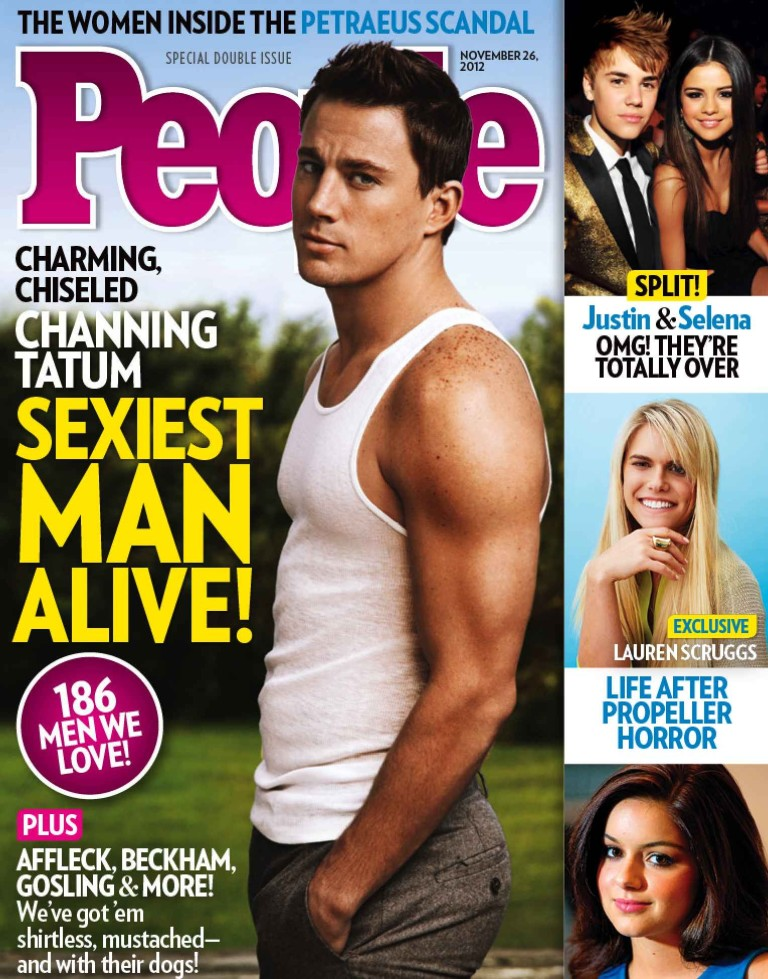 Channing Tatum - People Cover