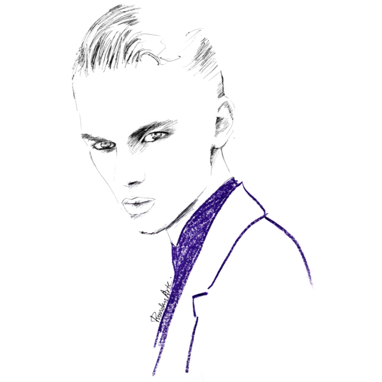 Fashion Illustration - Dominik Sadoch