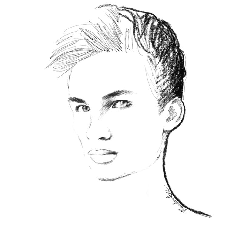 Fashion Illustration - Jan Purski