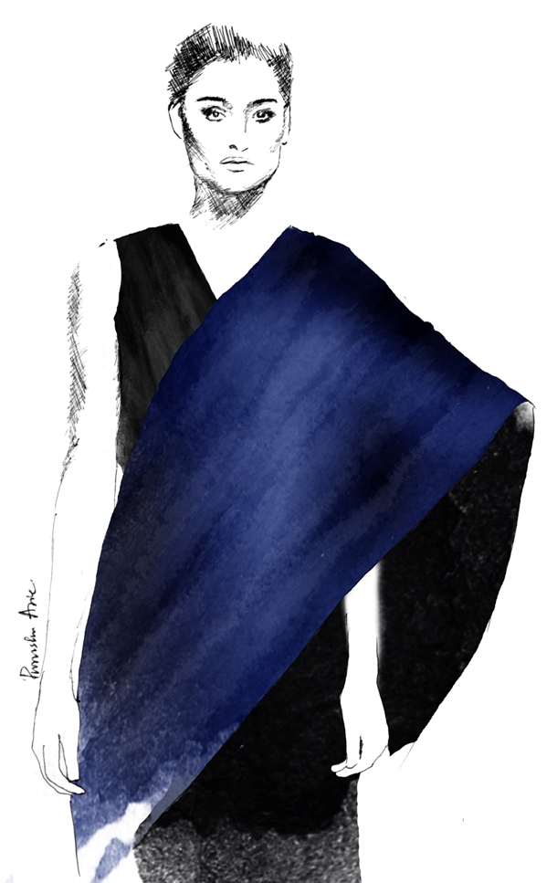 Fashion Illustration - Rimzim Dadu Autumn/Winter 2016