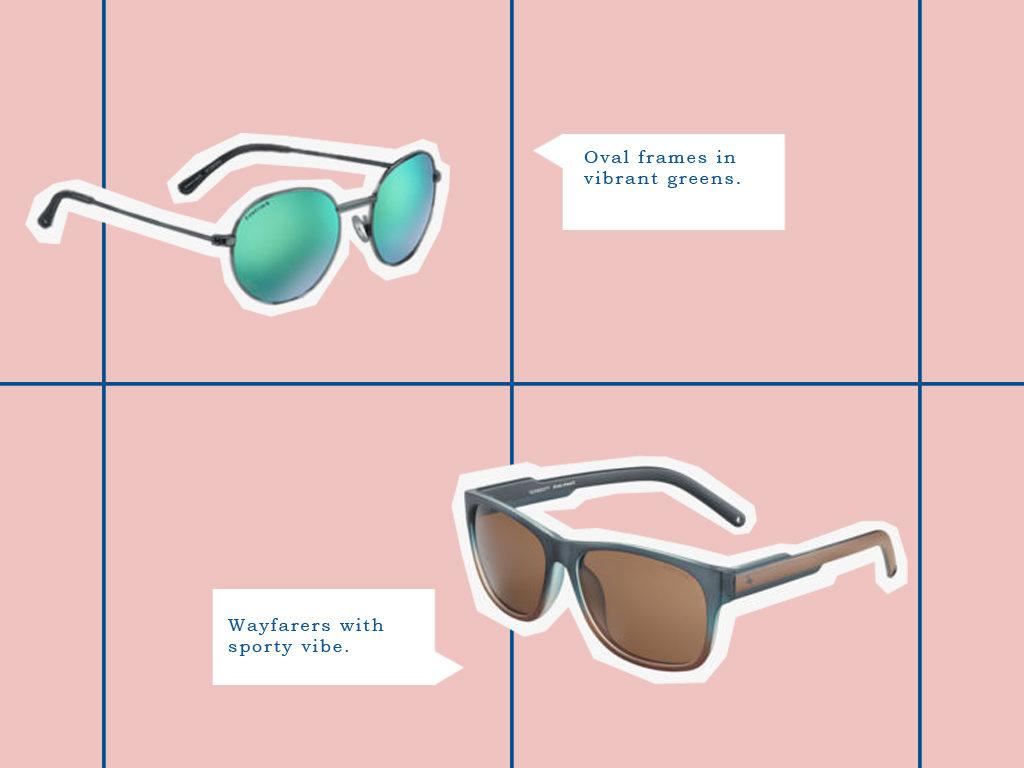 Oval Sunglasses vs Wayfarers