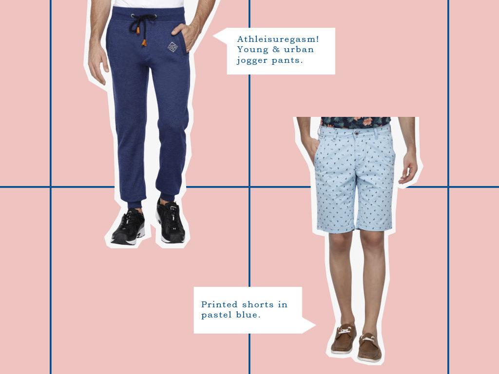 Joggers vs shorts