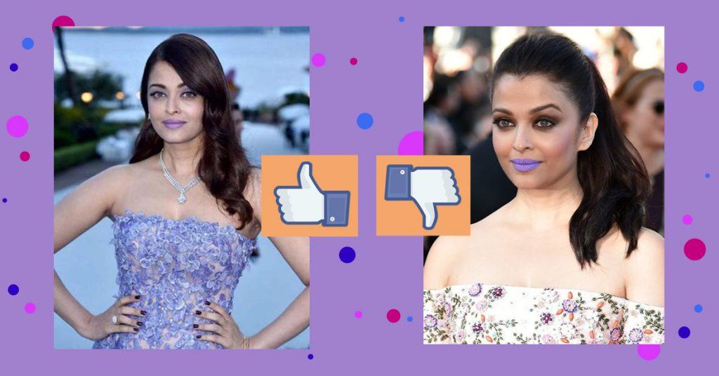 Aishwarya Rai Lavender Lips