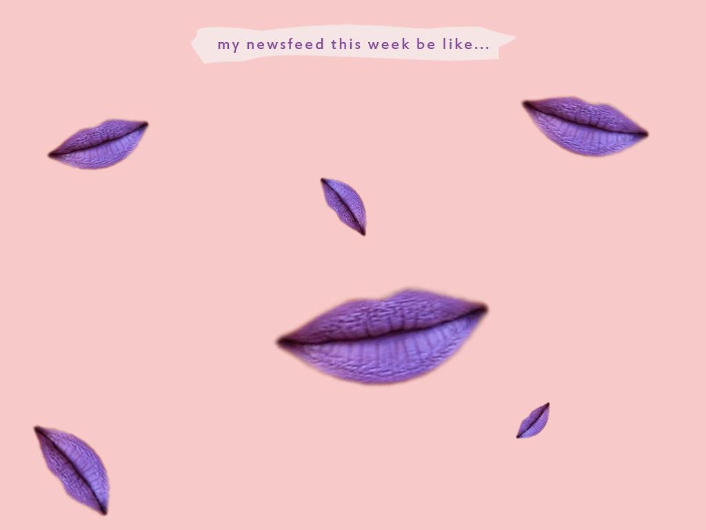 lavender lips
