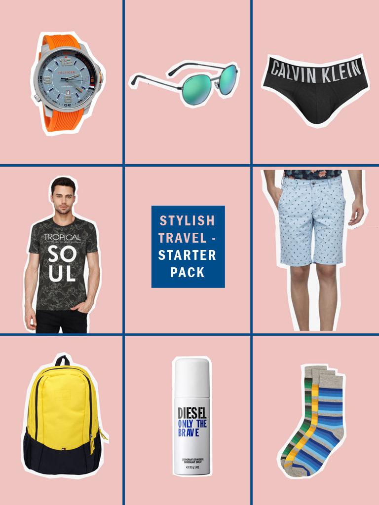 stylish travel kit