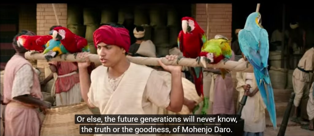 Mohenjo Daro costume design