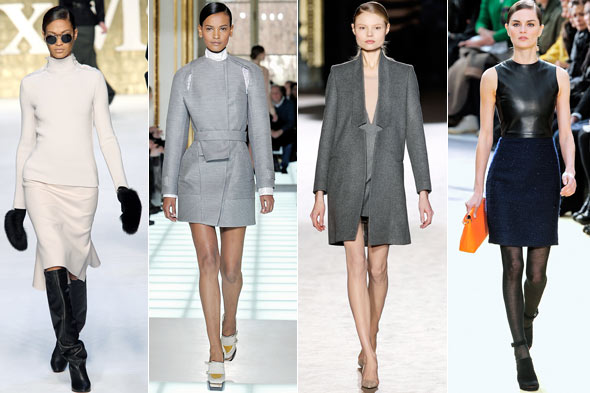 Minimalist Autumn of 2010 (Max Mara, Balenciaga, Stella McCartney, Celine)