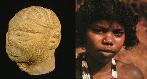 mohenjo daro dark skinned people