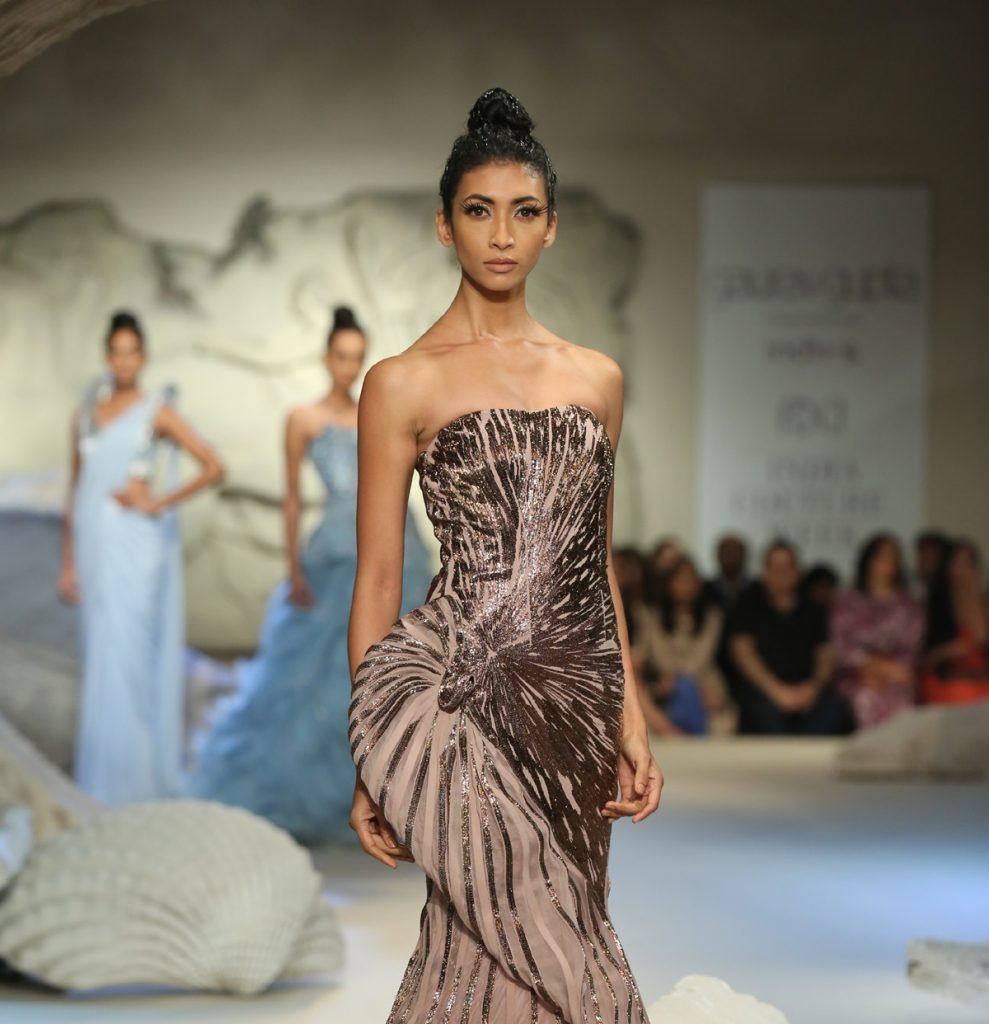 Gaurav Gupta FDCI India Couture Week 2016 Textile Craft