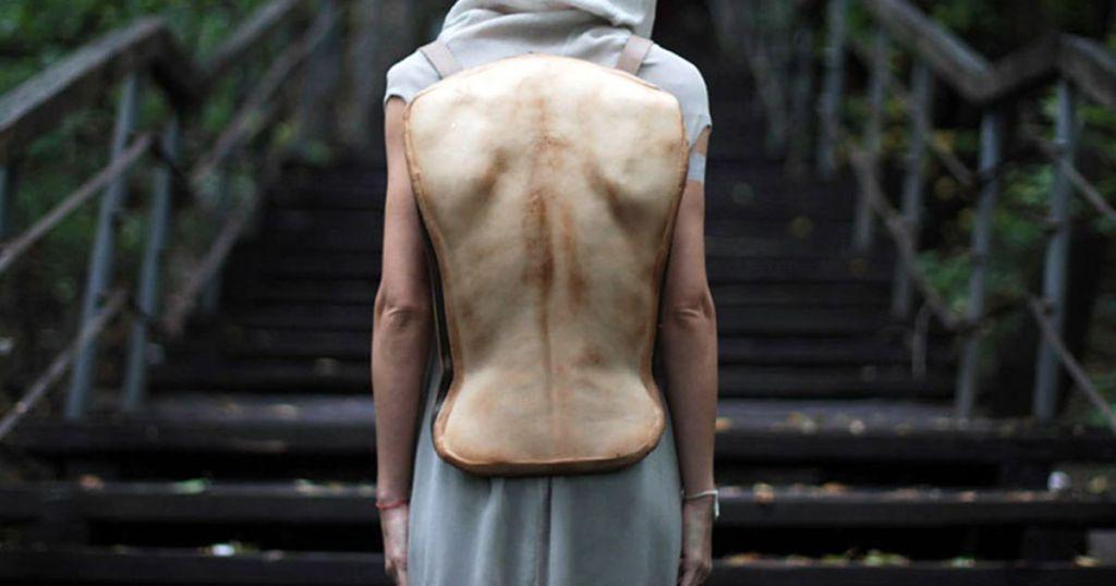 Konstantin Kofta's backpack inspired from human anatomy