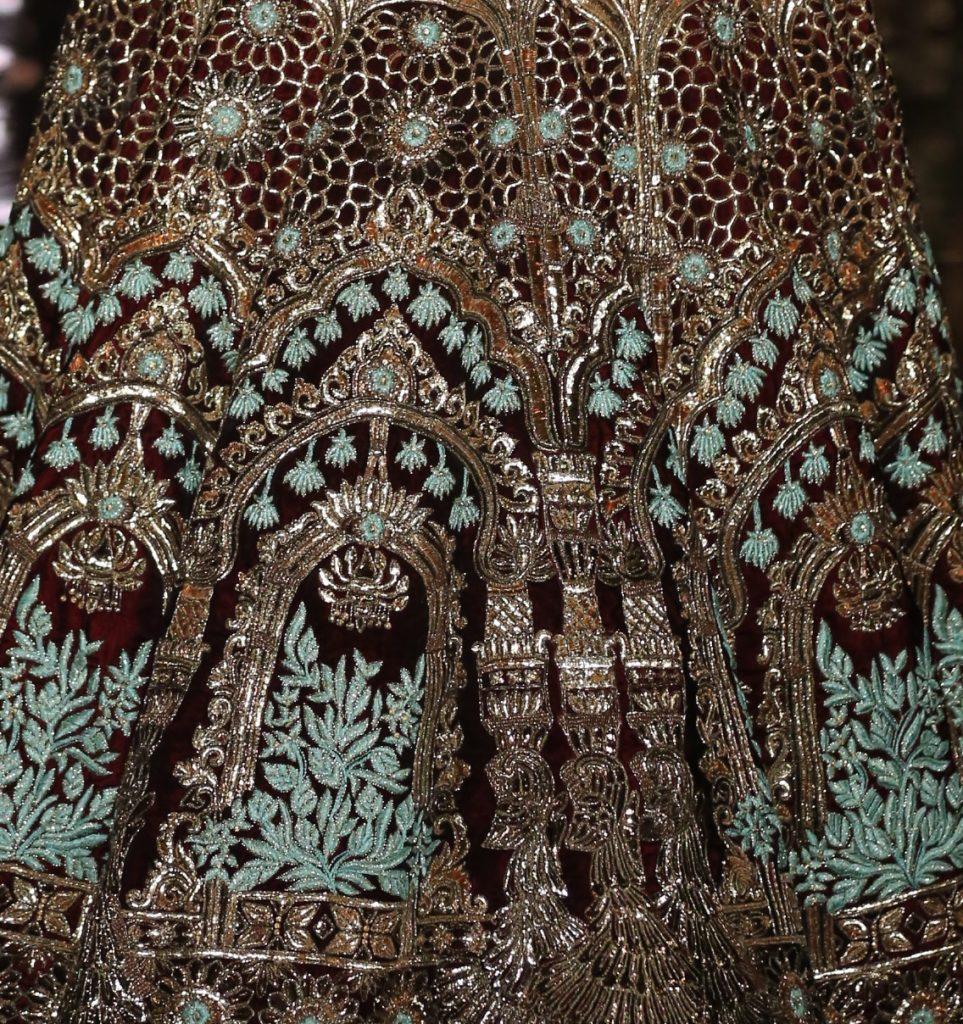 Manish Malhotra FDCI India Couture Week 2016 Textile Craft 1