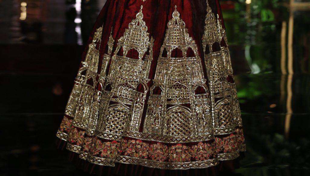 Manish Malhotra FDCI India Couture Week 2016 Textile Craft 3