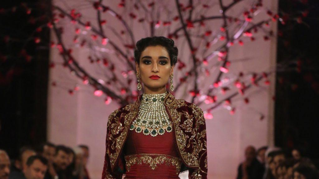 Rohit Bal FDCI India Couture Week 2016 Textile Craft Kanishta Dhankar