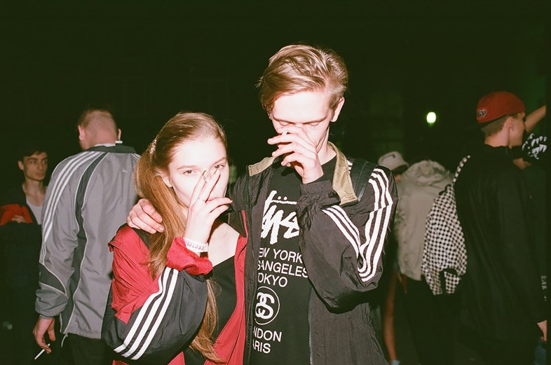 moscow teen rave party