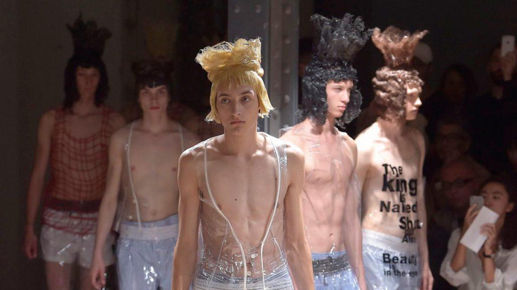 Comme des Garcons men's Spring/Summer 2017