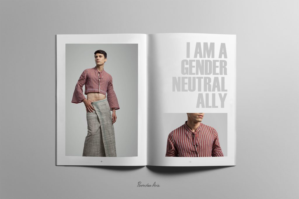 Purushu Arie Gender Neutral Fashion