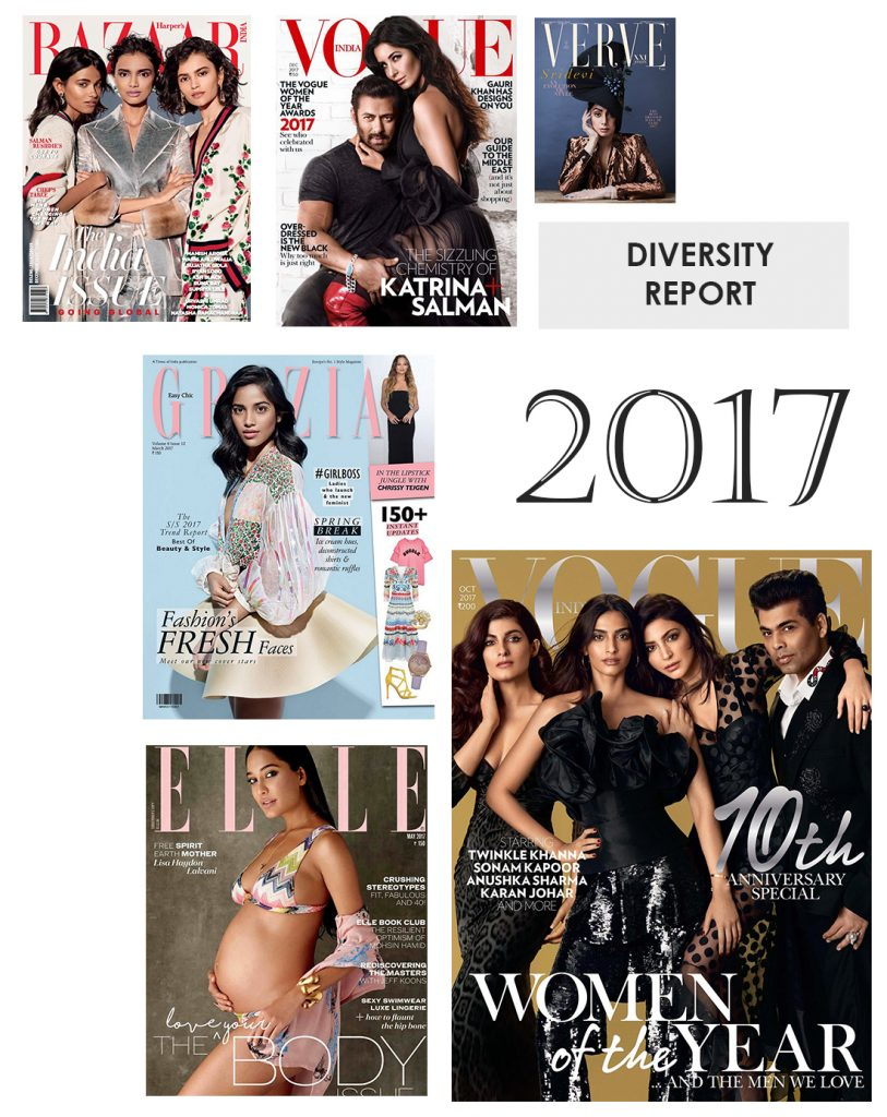 Representation Of Women In Indian Fashion Magazine Covers In 2017