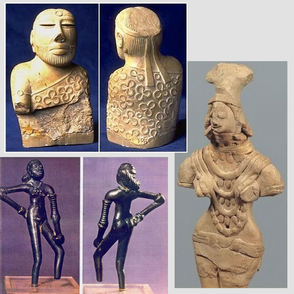 costumes indus valley civilisation