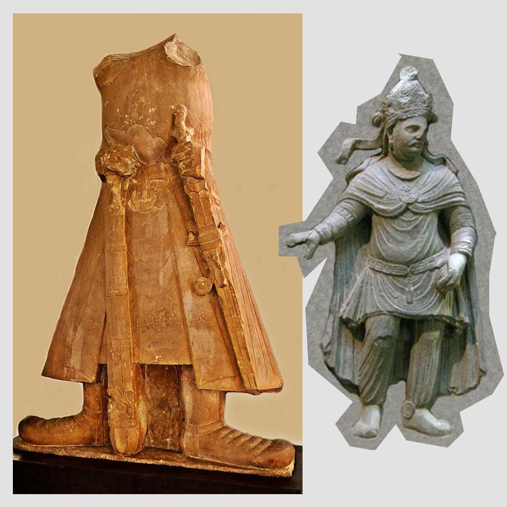 Kushan Royal Costume