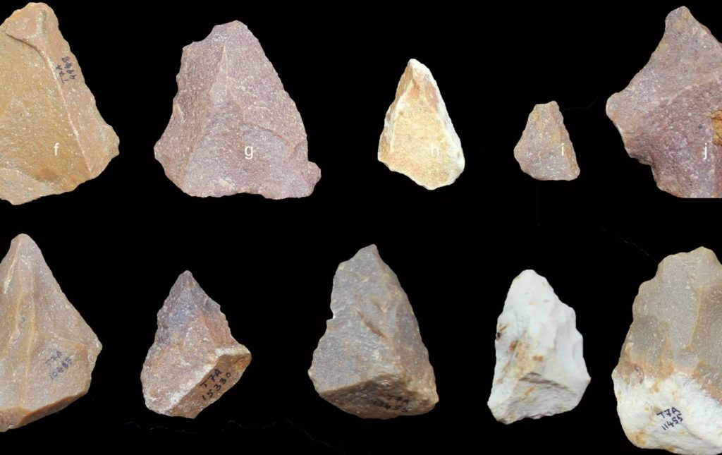 385,000 years old stone age tools at Attirampakkam Thamizh Nadu