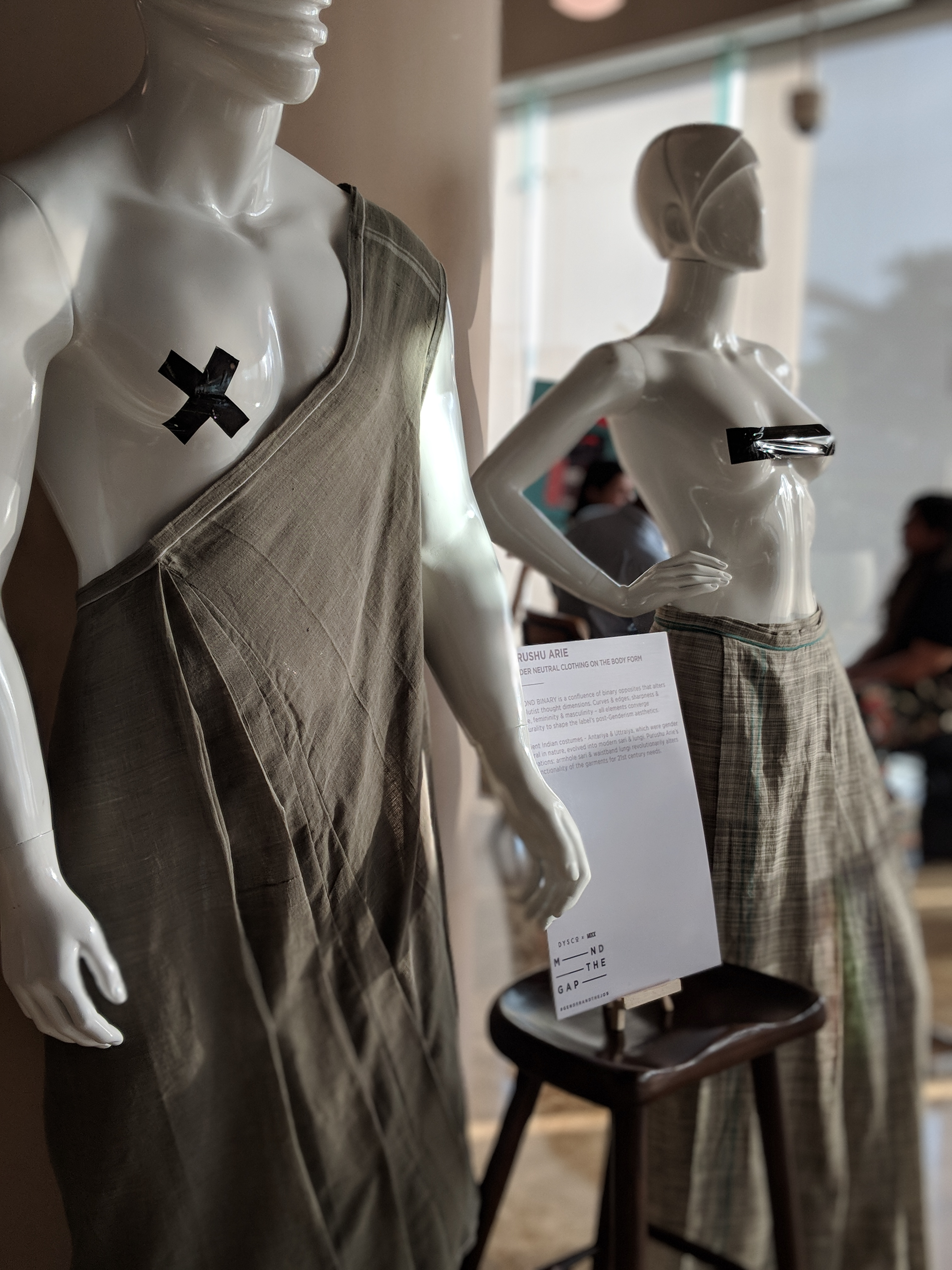 Purushu Arie - Gender Neutral Clothing On Body Form 1