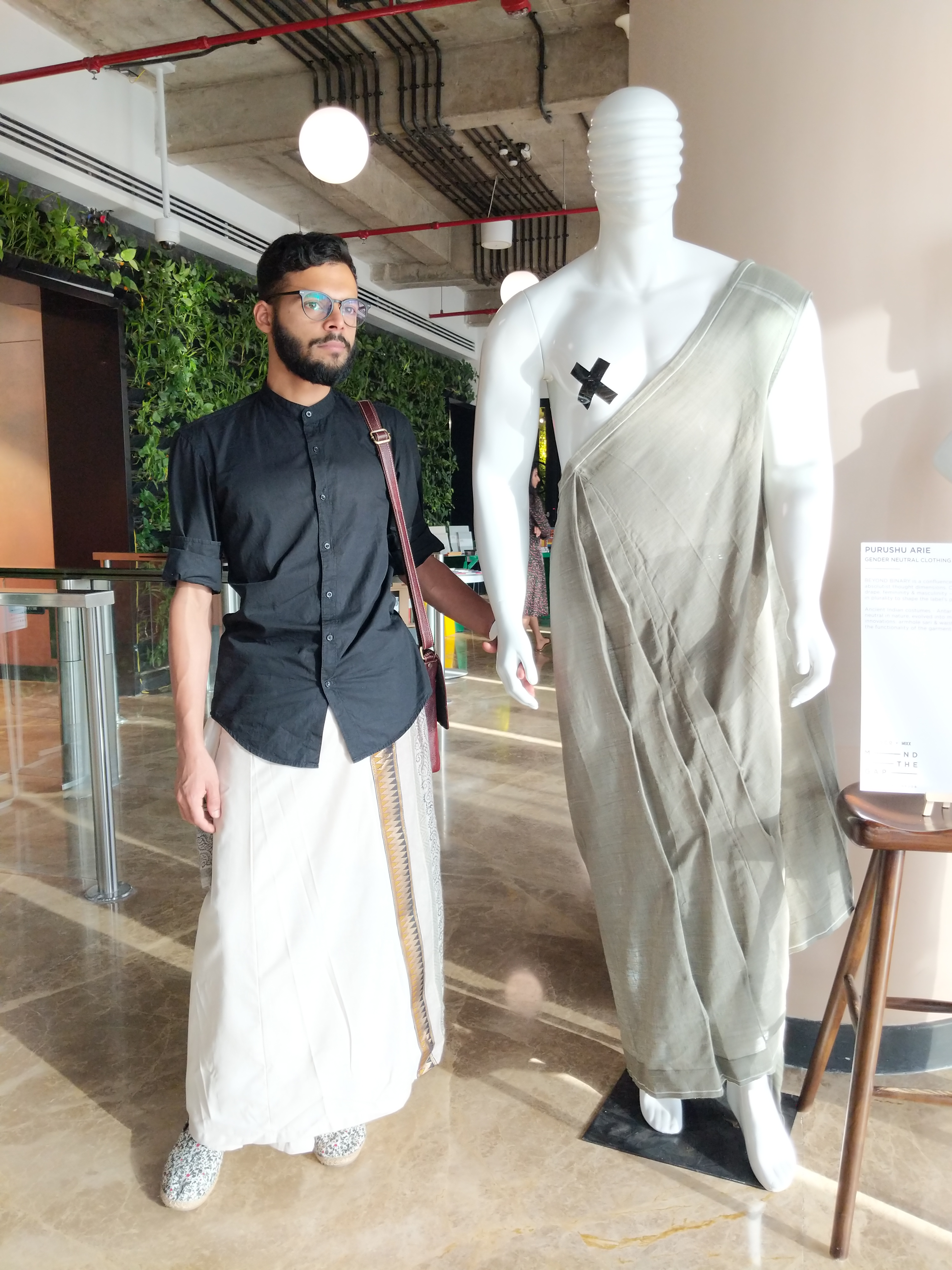 Purushu Arie - Gender Neutral Clothing On Body Form