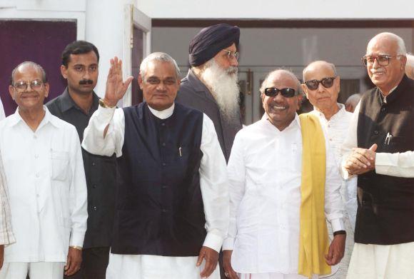 Kalaignar Karunanidhi and former Prime Minister of India, Shri. Atal Bihari Vajpayee