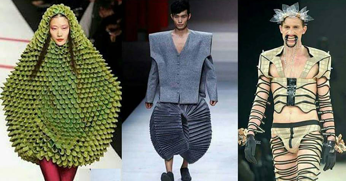 Who Buys These Runway Clothes Purushu Arie