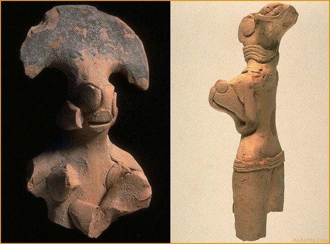 Terracotta figurines of Indus Valley Civilisation