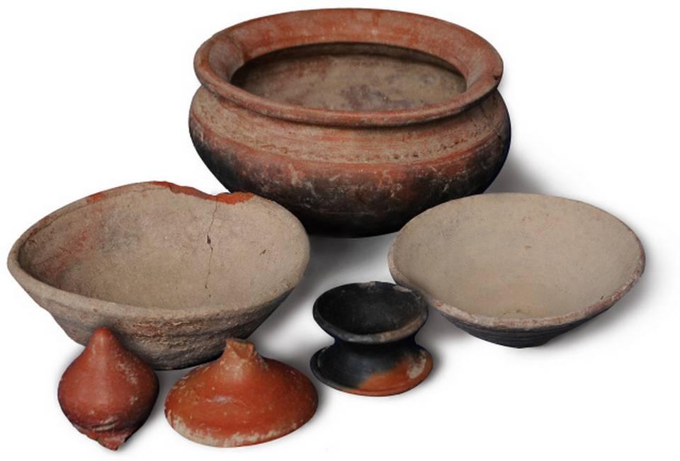 Pottery at Keezhadi