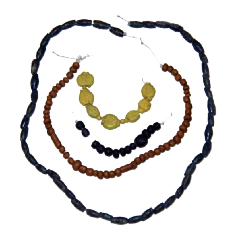 Variety of beads from Keezhadi
